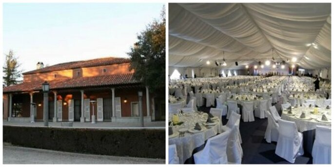 Las 12 mejores fincas de madrid para celebrar tu boda - Casa monico bodas ...