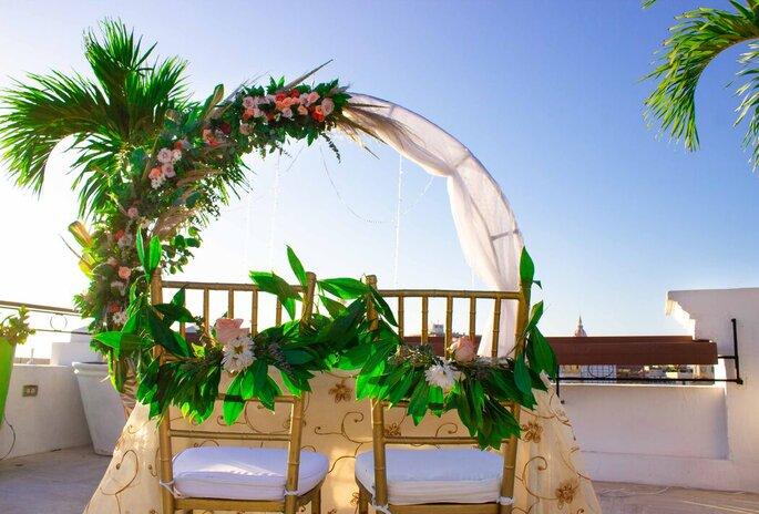 Eventos Dreams Planners Colombia Decoración de bodas Cartagena