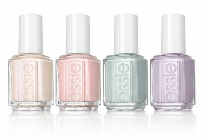 Pintura de uñas para novias de la marca Essie Wedding Collection 2012 - Foto: Essie