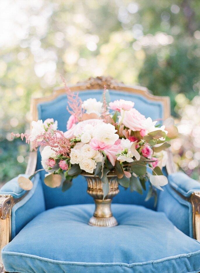 Geölten Tisch Pflegen ~ Hochzeitsdekoration Blaues auf dem Tisch, um den Hochzeitsbrauch zu pflegen!