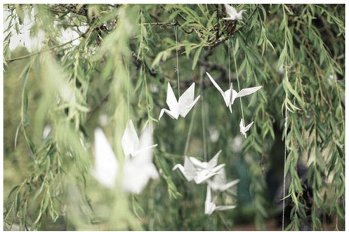 Decoración para una ceremonia religiosa en el día - Foto We Not Me Collective