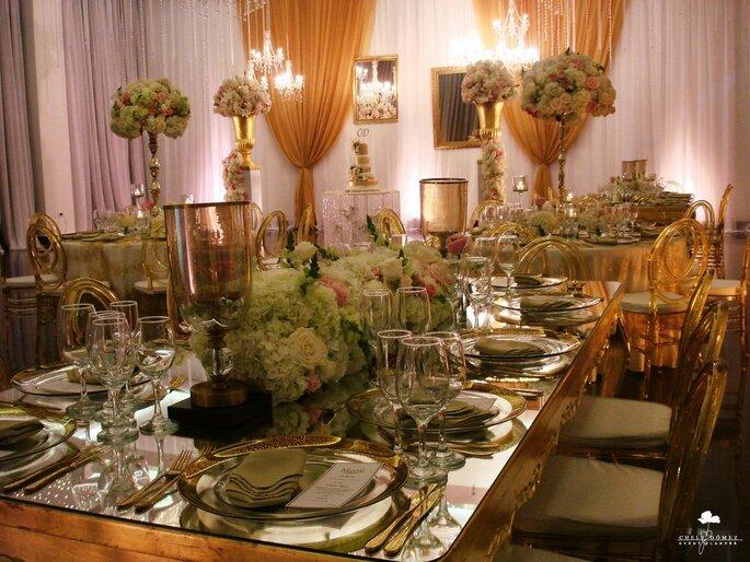 Chely Gómez Event Planner Decoración de mesa boda