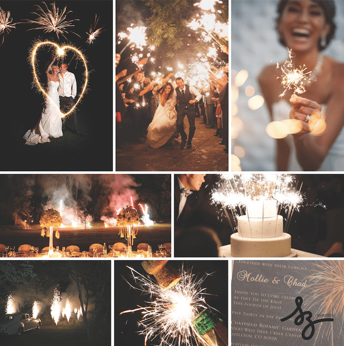 Fotos Project Wedding, Wedding Display Fireworks, Jasmine Star Photography
