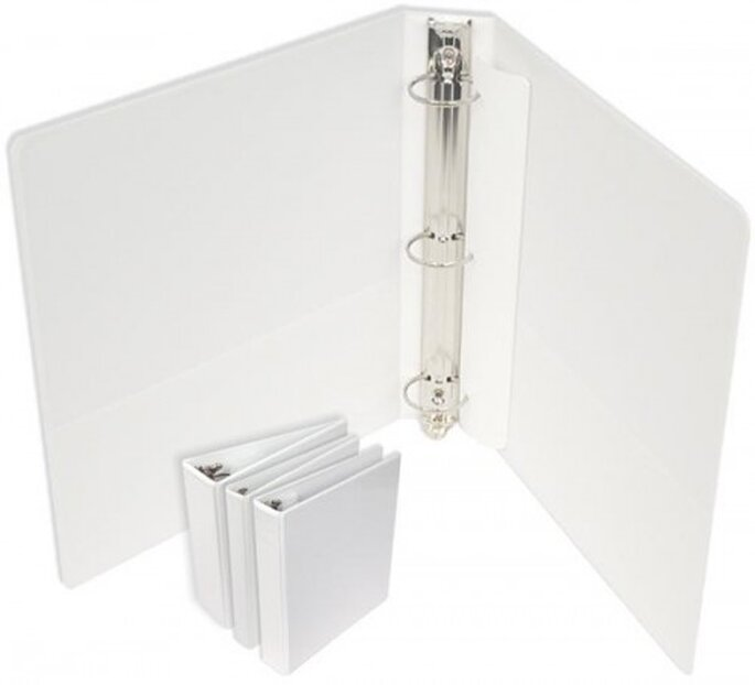 Three-ring binder