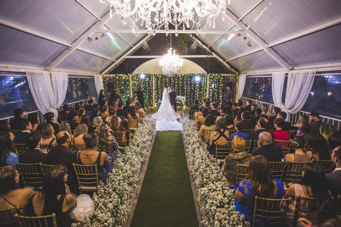 Casamento clássico no castelo