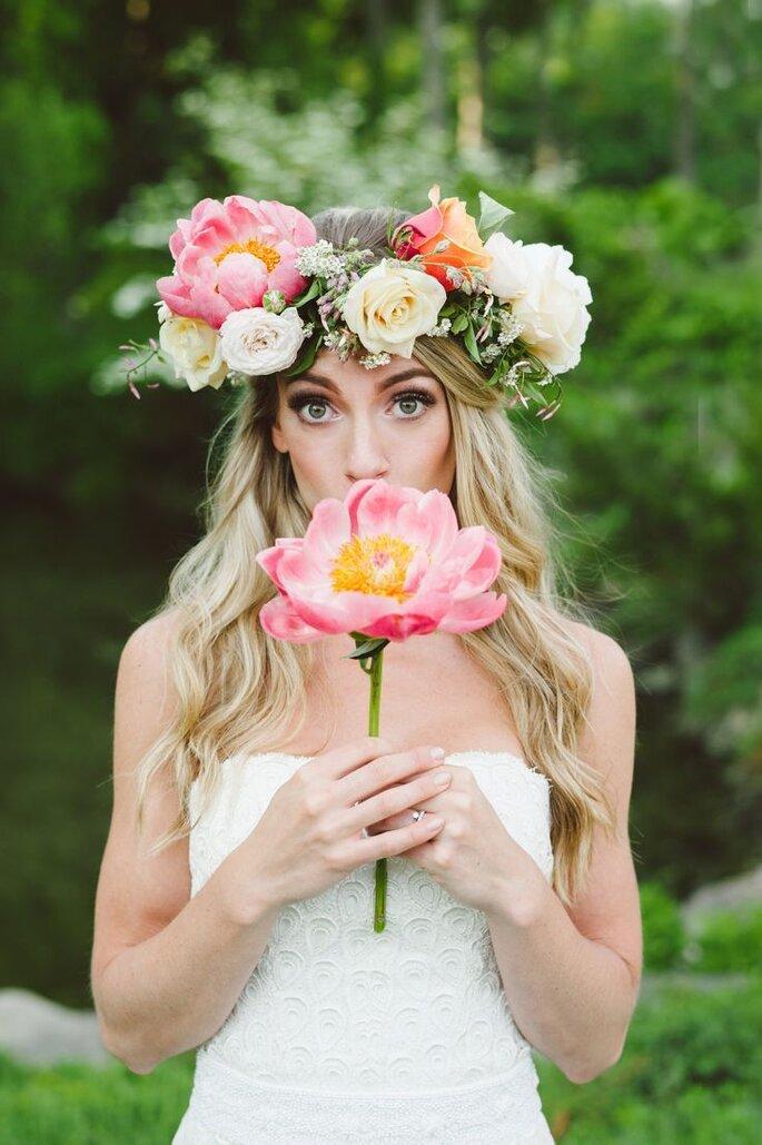 Corone Floreali sposa