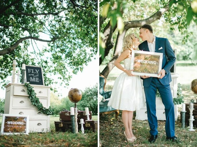 Как организовать свадьбу: свадебные тенденции 2015 Фото: Сергей Зинченко