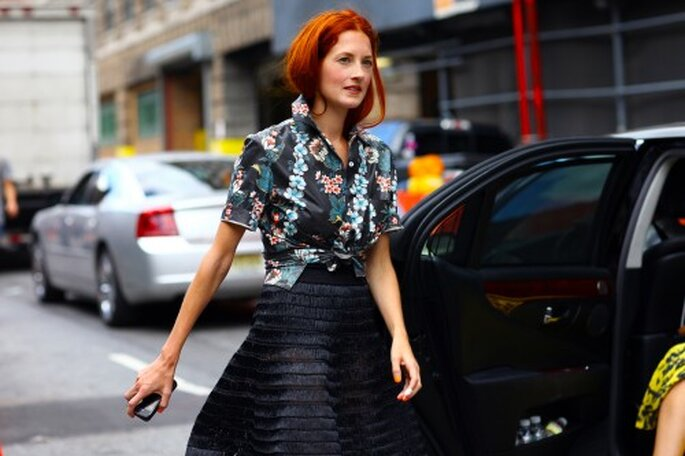 Taylor Tomasi Hill - Foto Vogue Street style New York.