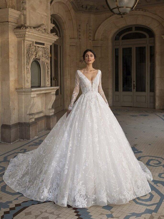 robe mariée dentelle princesse