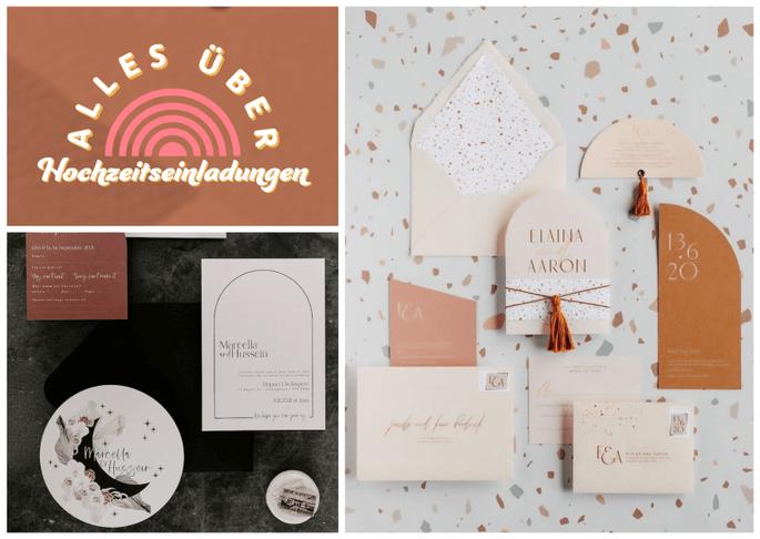 Hochzeitseinladungen - alles was man darüber wissen muss, Trends, Inspirationen