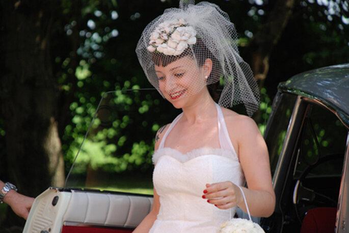 Un bellissimo ritratto della sposa