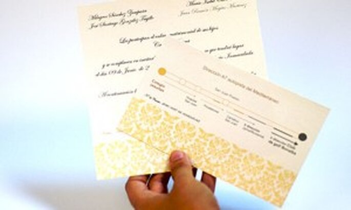 Invitaciones de boda Sya-Sya