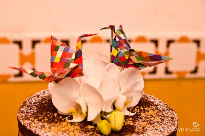 Topo de bolo de Tsurus