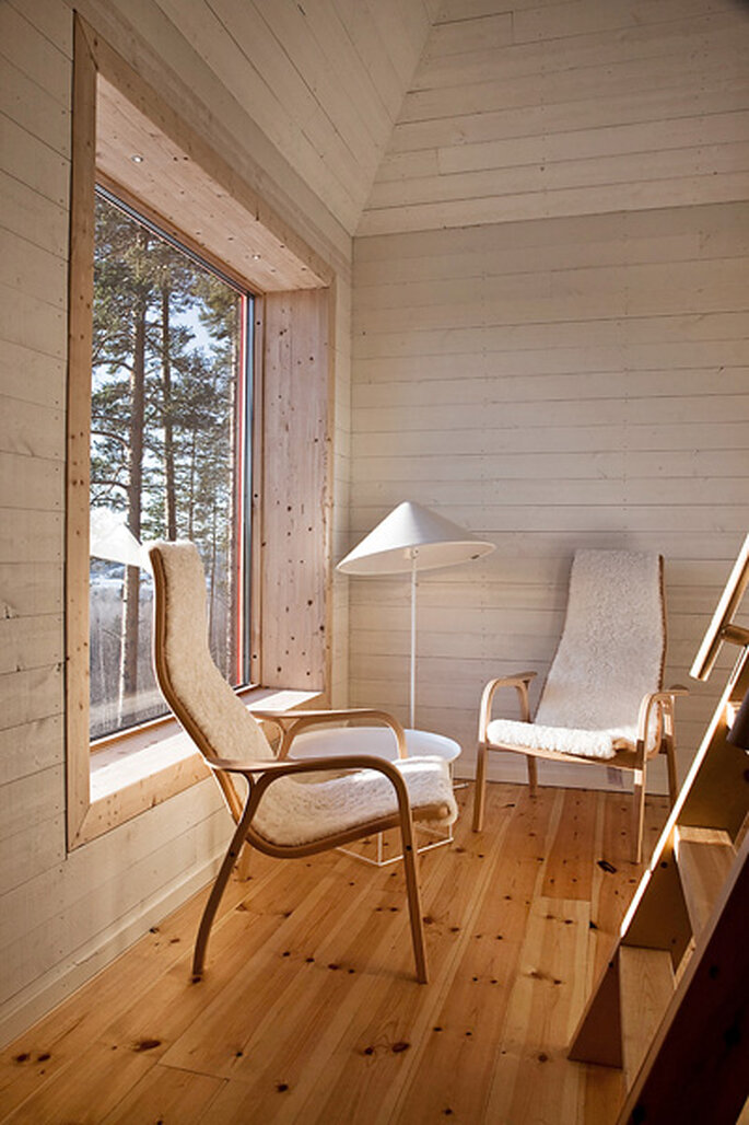 Un hôtel de charme dédié aux amoureux de la nature - Tree Hotel en Suède