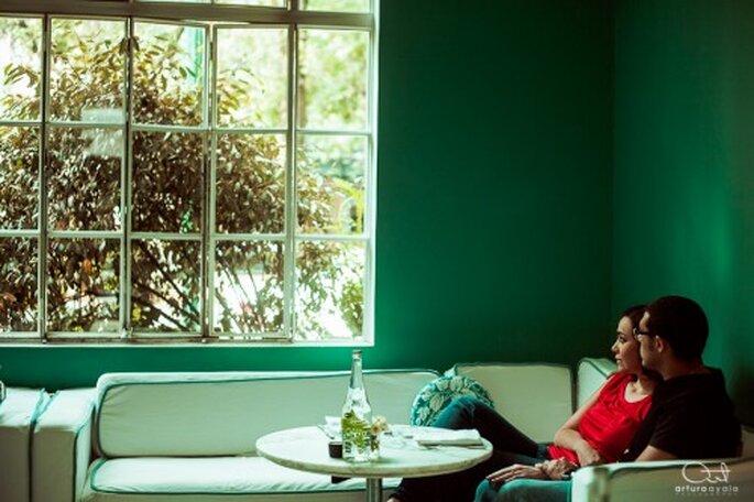 Elijan colores vivos y diferentes para su e-session - Foto Arturo Ayala