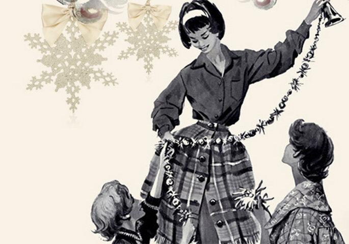 ¿Quieres ideas para una boda en Navidad? Pásate por el Christmas Store de Harrods. Foto: Harrods Archive Imagery