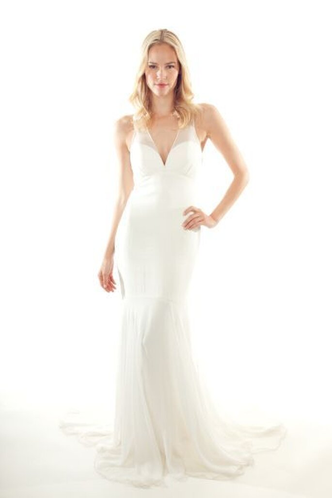 8d515bc4ad1 Nicole Miller 2013   des robes de mariée aux allures de déesses ...