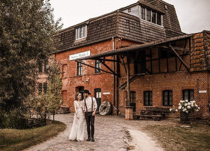 Brautpaar Salvey Mühle by ZaZa