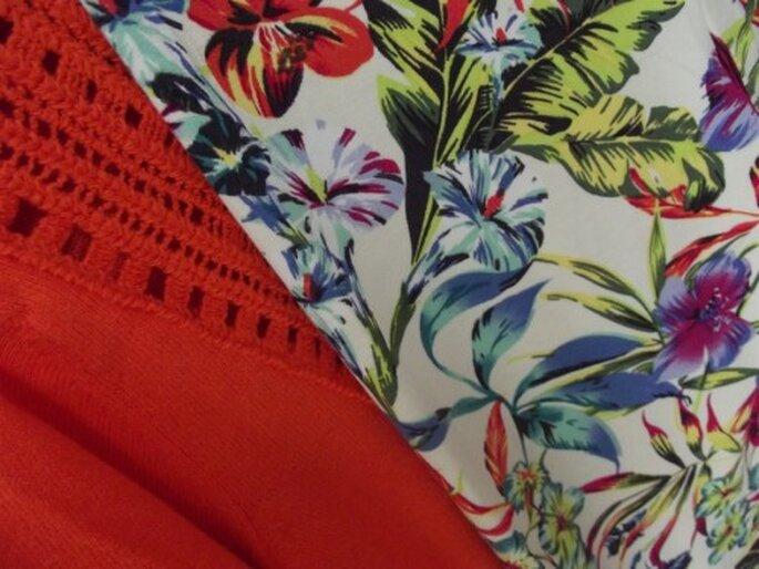 Pantalones y blusas en colores brillantes y divertidos estampados - Foto Melissa Lara