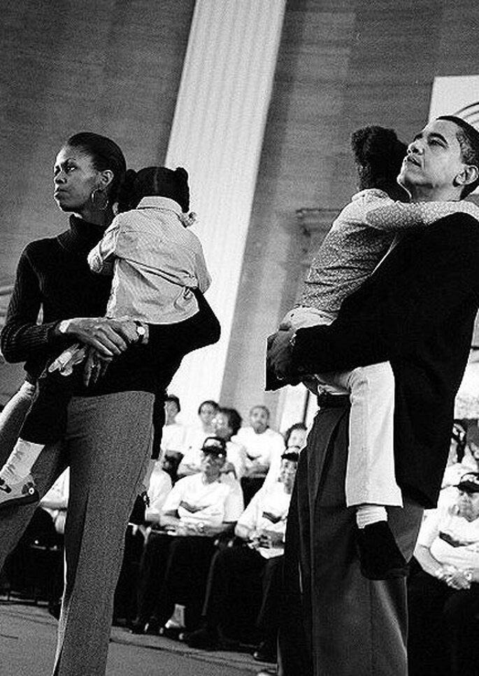 Michelle y Barack Obama celebran su 20 aniversario de boda este año. Foto: Facebook