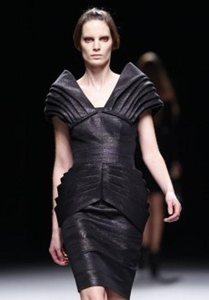 Colección de vestidos de cóctel Juanjo Oliva 2010