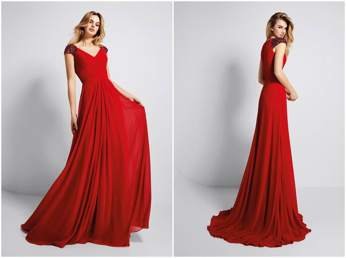 e0c31c6ec Escotes de moda para tu vestido de gala. ¡Descubre cómo lucir estas ...