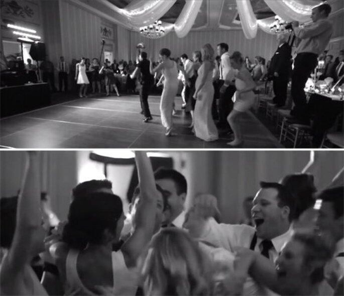 Baila con tus invitados para abrir la pista de baile - Foto Joe Pollock Films YouTube