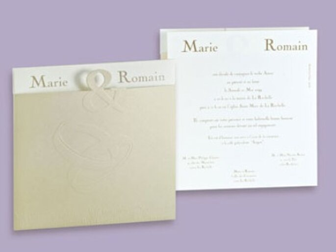 Letter Press Invitations with great invitations layout