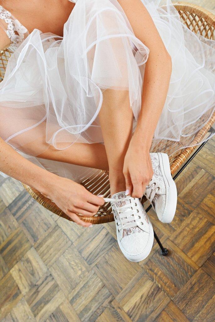 Elsa Coloured Shoes - Sneakers für die Braut