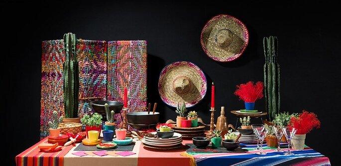 Photo : Maison Options - Inspiration Mexique