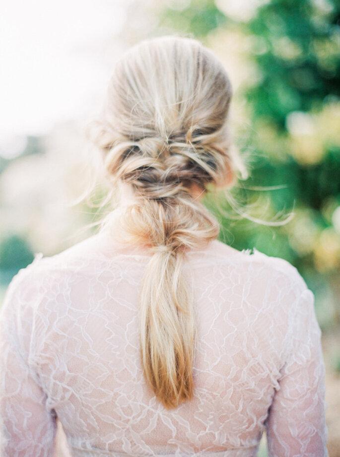 Peinado de novia. Credits: Sally Pinera