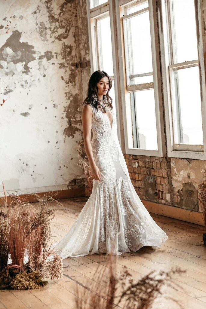 Printemps Haussmann - Robe de mariée - à Paris