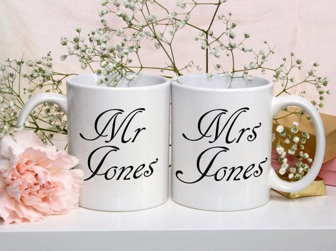 Personalized Couple Mugs - Munchkins n Pumpkins co.