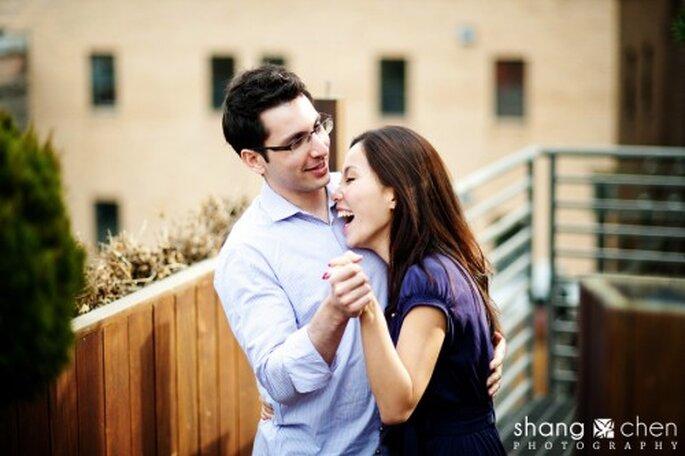 Die Verlobung ist ein Grund zum Feiern – Foto: Shang Chen