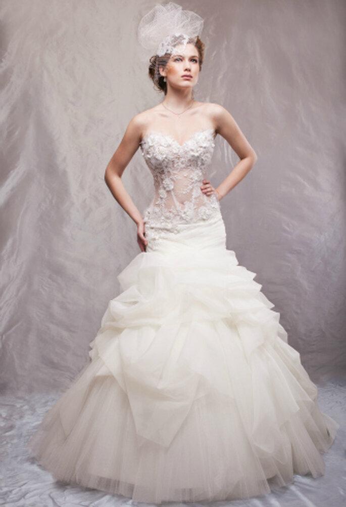 Heiraten deluxe - mit Brautkleid von ANNA MODA