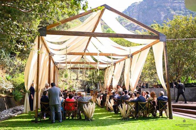 El Suspiro Tepoztlán jardines para bodas Tepoztlán