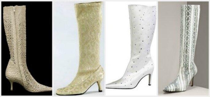 Botas para novias