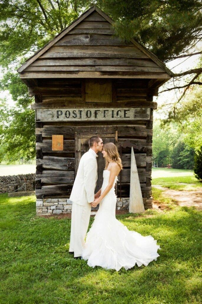 Una boda original en el jard n de un rancho for Bodas sencillas en jardin