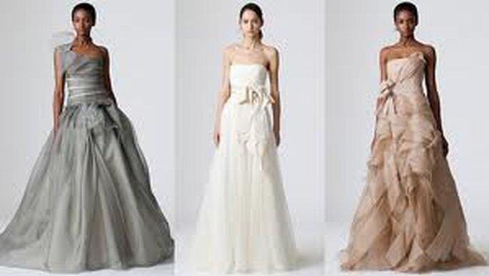 Vestidos de Noiva Coloridos Vera Wang