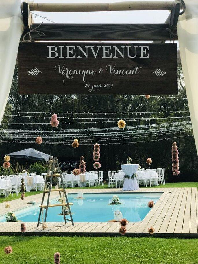 Décoration pour un mariage en Corse