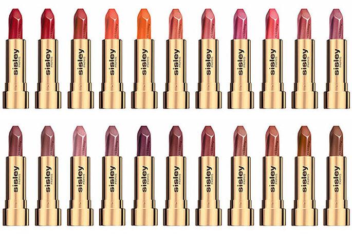Les rouges à lèvres Sisley : longue tenue assurée ! -Photo : Sisley