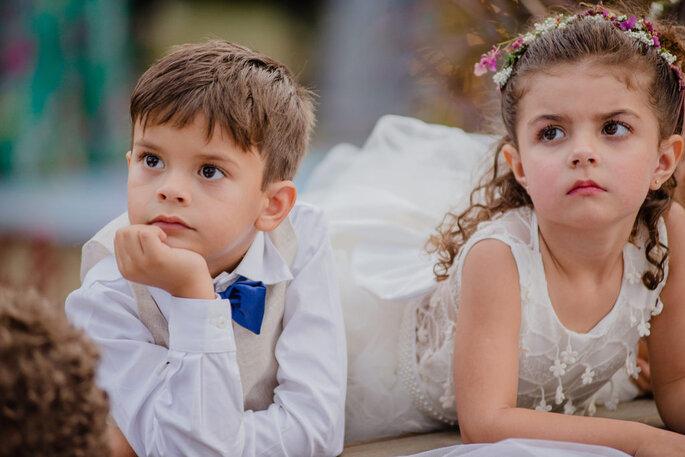 Traje do pajem para casamento ao ar livre