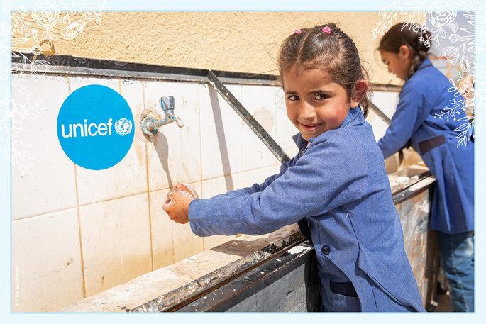Unicef Regalo Azul detalles invitados