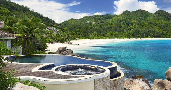 lua-de-mel nas Seychelles Seicheles