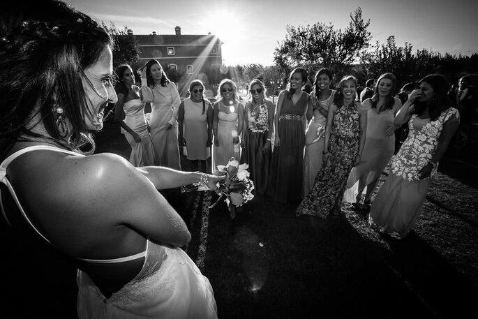 ensaio noiva e madrinhas