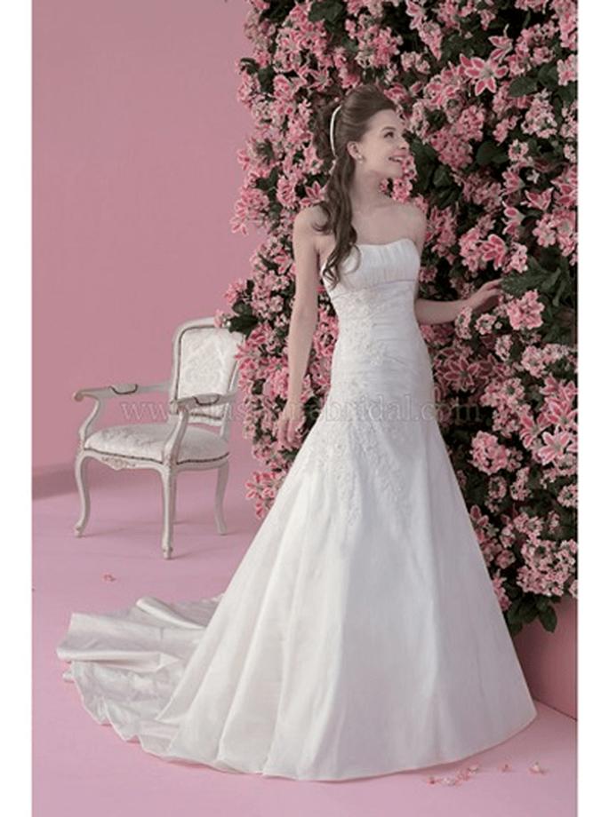 Märchen-Hochzeitskleid von Jasmine Bridal - Modell F101 - Foto:www.jasminebridal.com