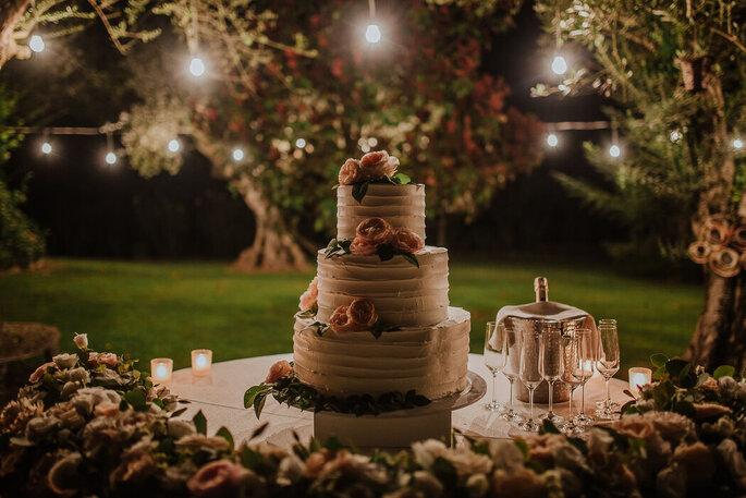 Baccarà Eventi - torta nuziale