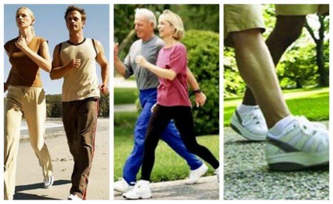 Si practicaras  caminatas cuentame cómo hicieron