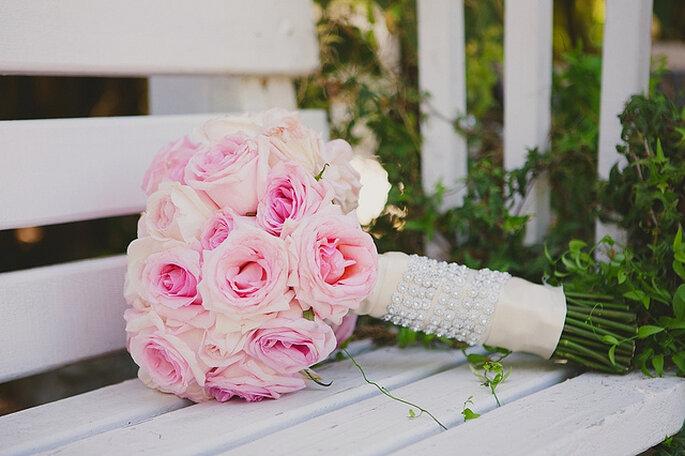Decoración en rosado. Foto: Closer to Love Photographs