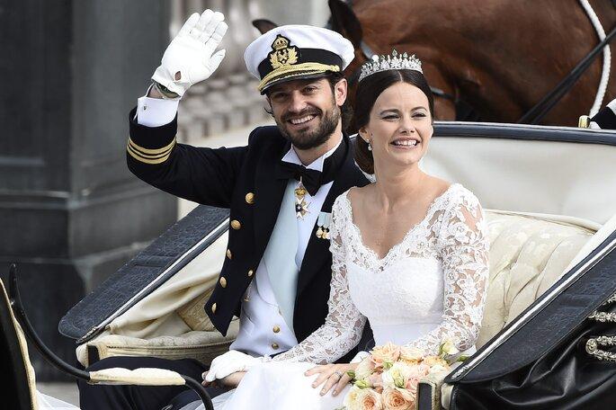 Принц Швеции Карл Филипп и его супруга